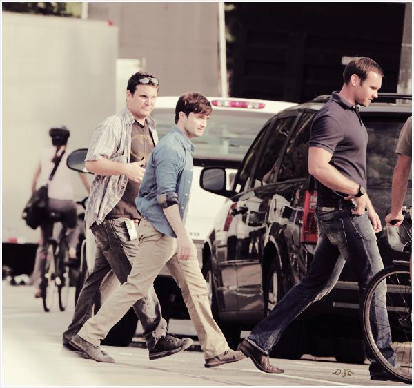 15 août 2012  : Daniel était sur le plateau du film : « The F Word » au côté de Zoé Kazan à Toronto au Canada.