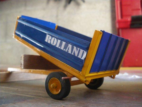 remorque rolland BH 72 artisanal