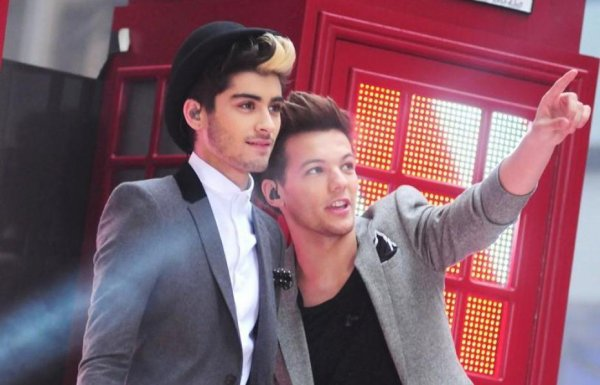louis and Zayn