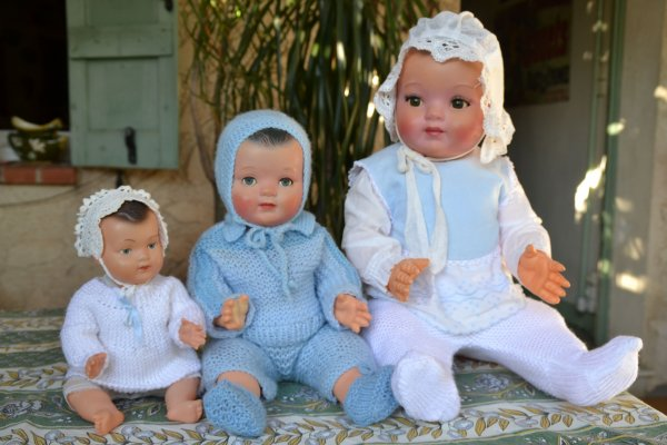 En-corps des poupées !  les bébés 1/2