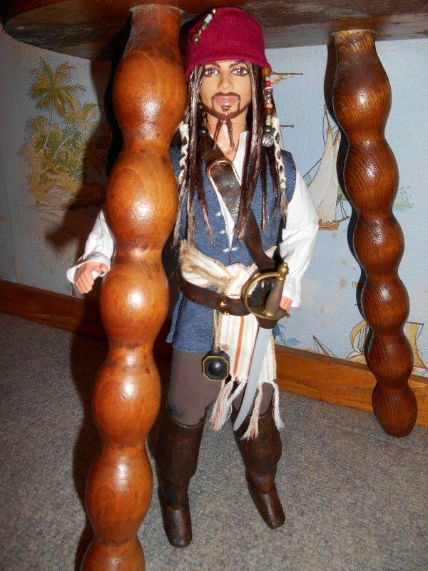 Jack Sparrow OOAK