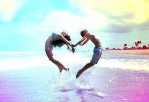 « Un amour d'adolescent, pure et simple, ça n'arrive qu'une fois. (...) On recherche la même chose, mais on est tellement différents. »