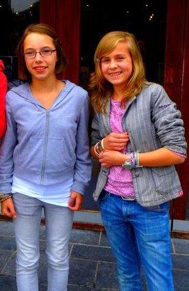 On Se Présente ; Emelinne Renson & Aurélie Bourivin. ♥