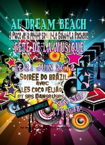 DREAM BEACH // 21 JUIN // FETE DE LA MUSIQUE