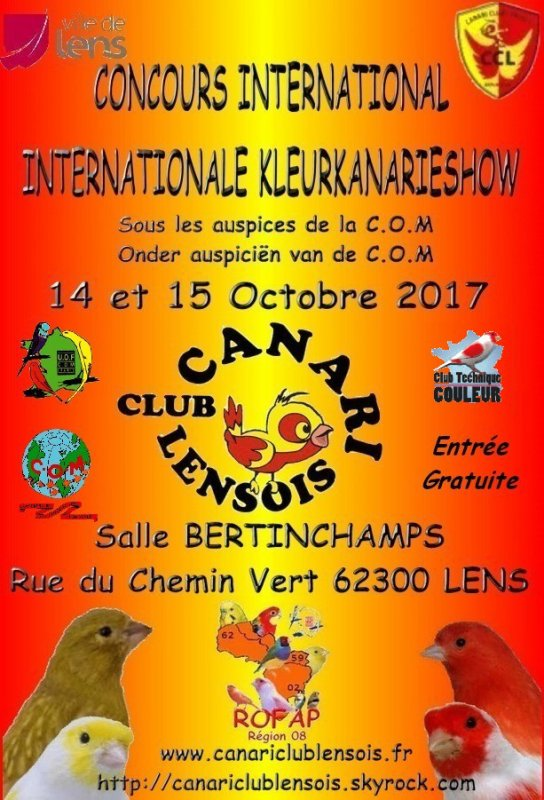 Exposition International de LENS 2017