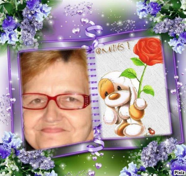 Cadeau pour mon Amie LOULOU1725