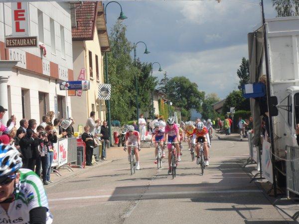 1ere manche de la coupe de France Dames-Minimes cadette à Izernore (15 mai)