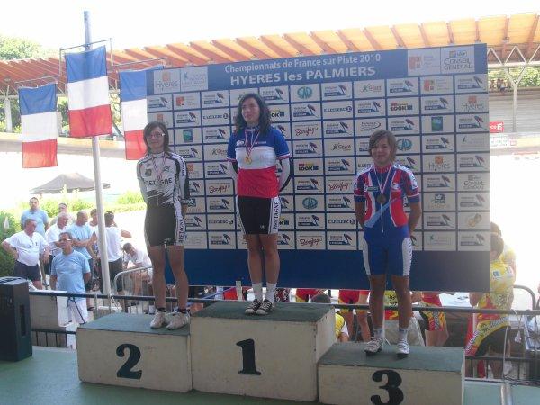 Championnat de france piste à Hyeres (10&11 juillet)