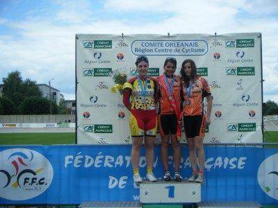 Championnat regional piste 2009 en minime 2 (21 juin)