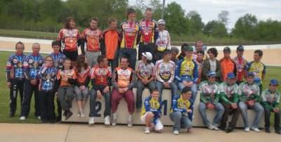 Championnat departemental piste minimes 2 ( 2 mai)