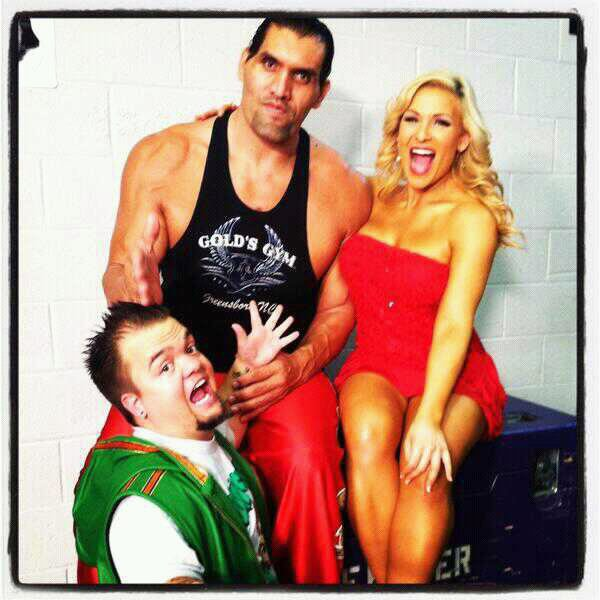 Great Khali , Natalya & Hornswoggle