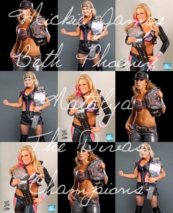 Mickie James, Beth Phoenix et Natalya