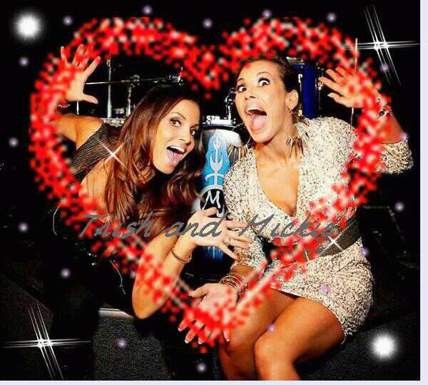 I love Trish and Mickie