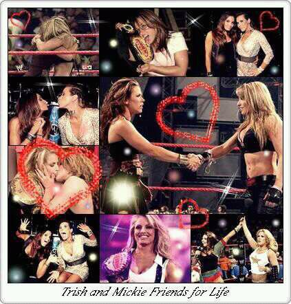 Trish and Mickie Friends for Life