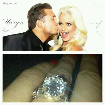 Maryse et The Miz sont fiancés.