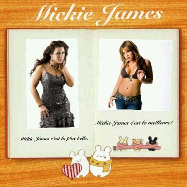 Nouvelles créas Mickie James
