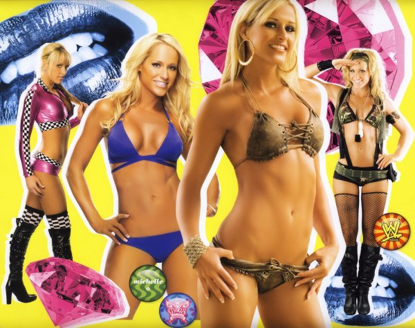 Beth Phoenix  ,  Michelle McCool  and  Kelly Kelly