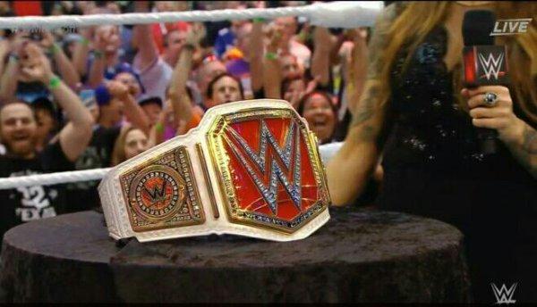 WWE Womens Championship, le retour !