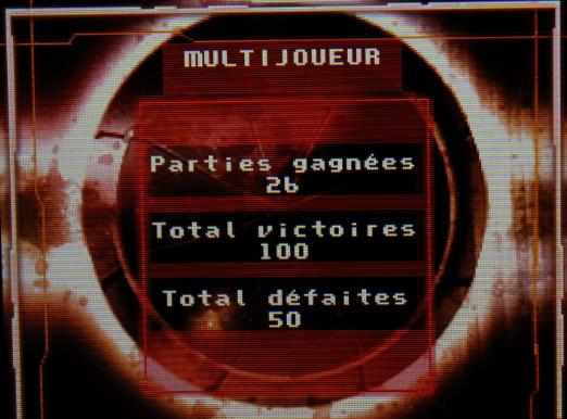 Métroid Prime Démo - Score Multijoueur