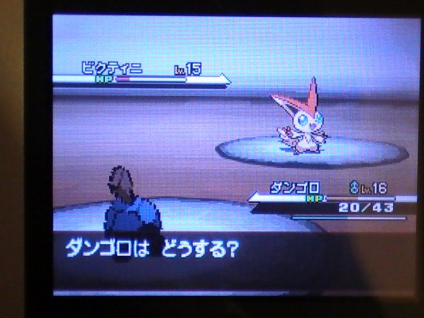 Pokémon Black & White - Event Victini
