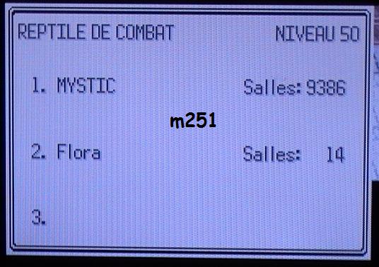 1 - Reptile de Combat (Emeraude)