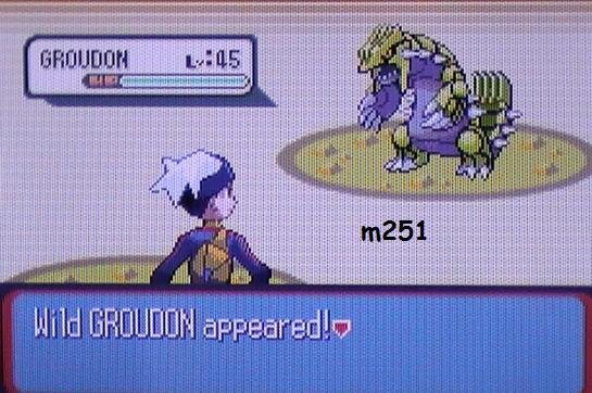 Groudon Shiney