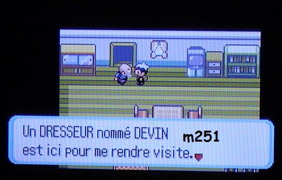 Event e-Reader Pokémon Rubis & Saphir - Dresseur Devin
