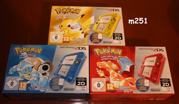 Les 2DS pour les 20 ans de Pokémon