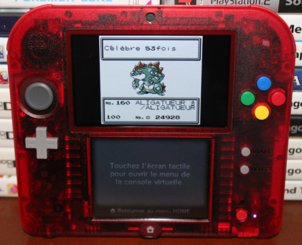Périple Pokémon OA VC 3DS