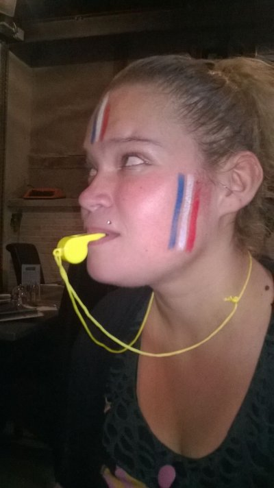 Supportrice de l'équipe de France !!
