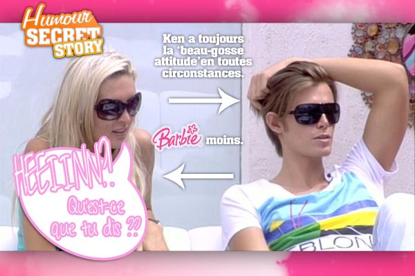 Ken la classe incarnée ( ou pas ) & Barbie la blonde
