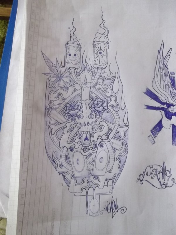 delire pour tatoo neken graff