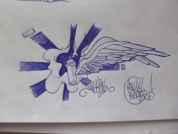 angel bombe par neken graff