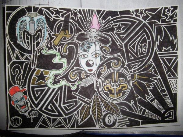petit trip tribale neken graffiti