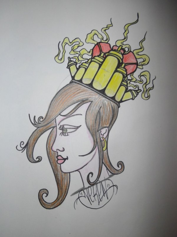 bombe princesse by neken graff