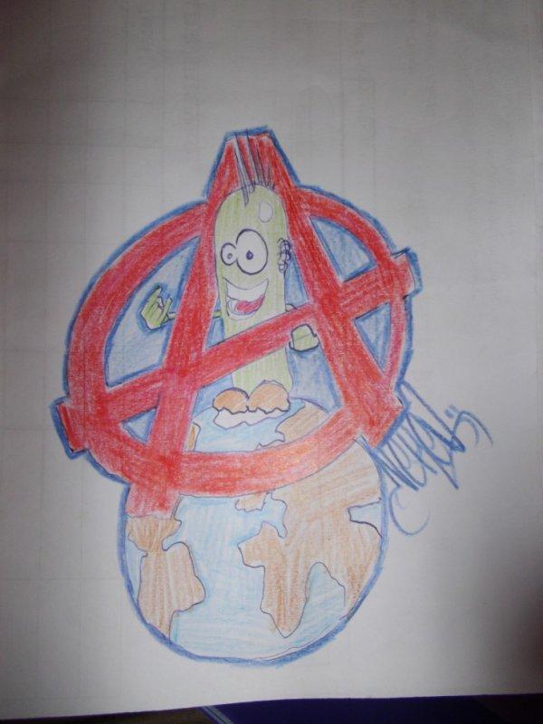 fayo anarchiste by neken graffity