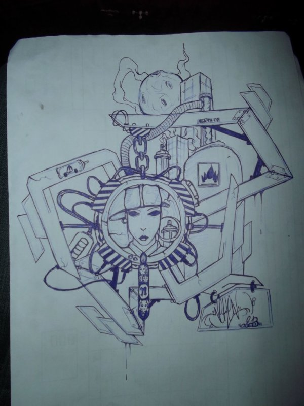 hard style by neken graffiti dessin tattoo
