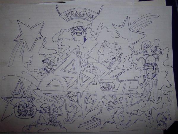 les fayo au paradis by neken graffiti