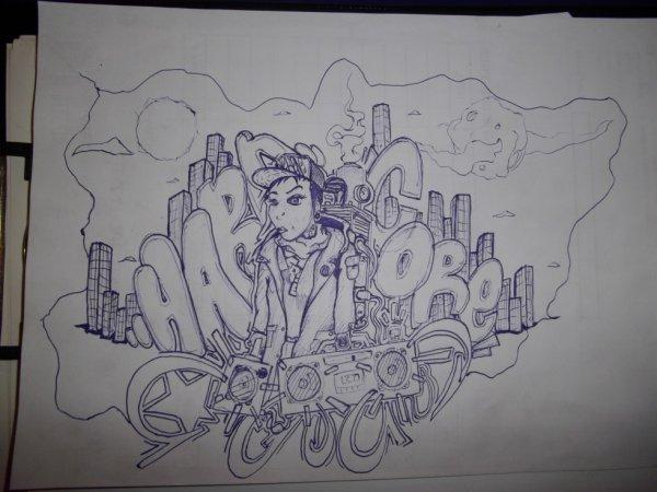 hardcore neken graffiti  dessin