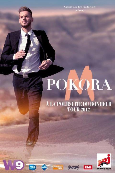"""Affiche Officiel de la tournée """" A La Poursuite Du Bonheur Tour """""""