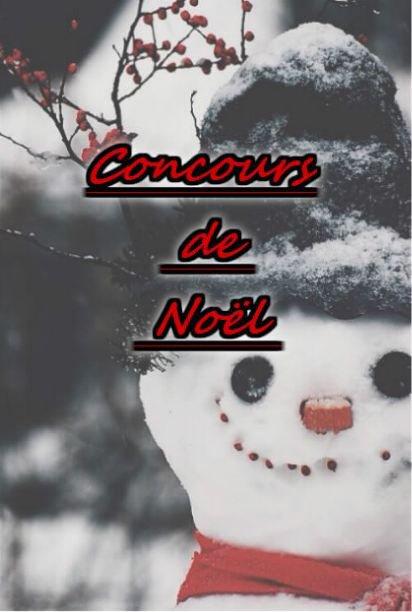 Concours de Noël (inscription close)