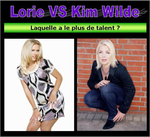 Talent : Lorie VS Kim Wilde