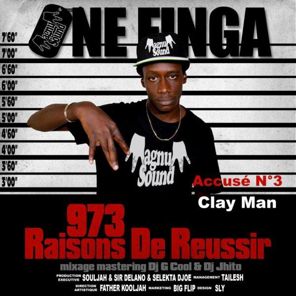 """La 1ere Mixtape de ONE FINGA """" 973 Raisons de Réussir """""""