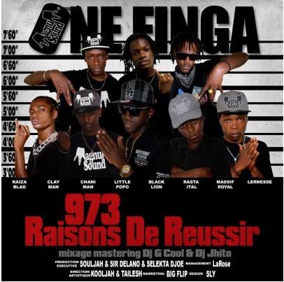 """ONE FINGA "" "" 973 Raisons de Reussir """