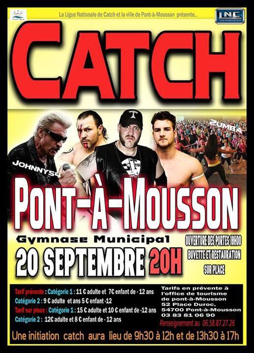 Festival'Catch de la Ligue Nationale De Catch