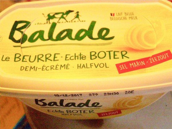 Est-ce du vrai beurre ? Echte boter ?