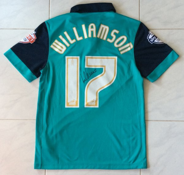 Maillot de Lee WILLIAMSON - BLACKBURN ROVERS FC 2014-2015