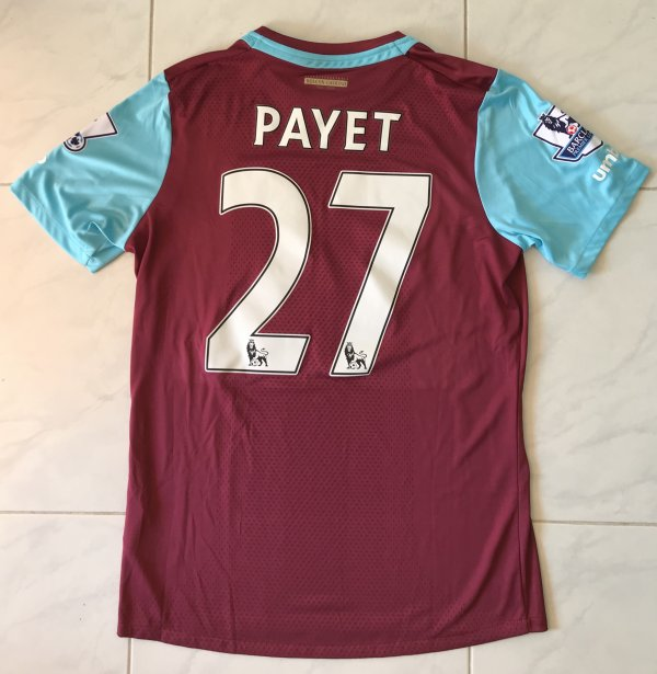 Maillot de Dimitri PAYET - WEST HAM UNITED FC 2015-2016
