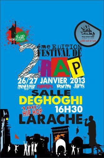 Darba à Festival 2eme edition Du Rap Abdessamad Kenfraoui à LARACHE