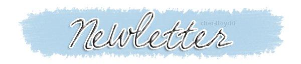 Bienvenue ♥ + Newletter